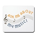 Music Advertising Mousepad