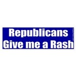 Republican Rash Bumper Sticker