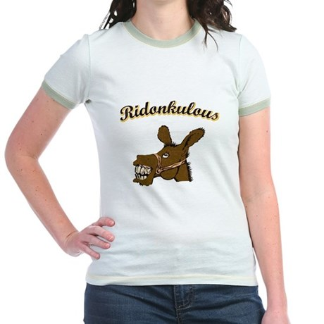 Ridonkulous Jr. Ringer T-Shirt