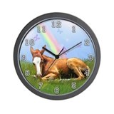 Pot Of Gold Wall Clock