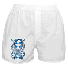 DNA structure Boxer Shorts