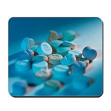 Ecstasy pills Mousepad
