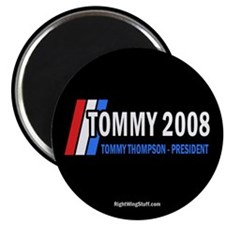 "Tommy Thompson for President '08 2.25"" Magnet (100"
