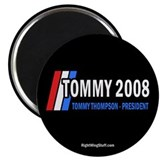 "Tommy Thompson for President '08 2.25"" Magnet (10"