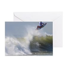 Quicksilver Surfing Greeting Card