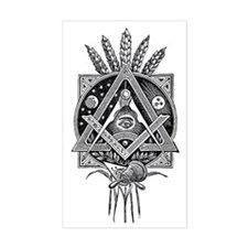 Masonic Abundance Decal