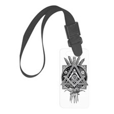 Masonic Abundance Luggage Tag