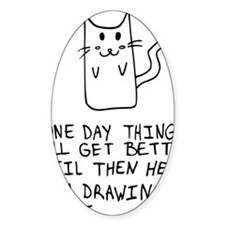 Here is the drawing of a cat_CP Decal