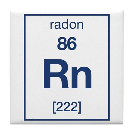 Radon Tile Coaster