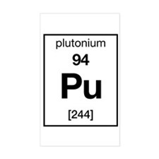 Plutonium Rectangle Decal