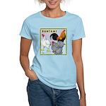 Bantam Chickens Women's Light T-Shirt