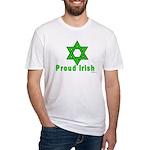 Proud Irish Jew Fitted T-Shirt