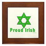 Proud Irish Jew Framed Tile