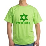 Proud Irish Jew Green T-Shirt