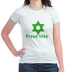 Proud Irish Jew Jr. Ringer T-Shirt