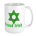 Proud Irish Jew Large Mug