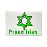Proud Irish Jew Rectangle Magnet (10 pack)