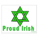 Proud Irish Jew Small Poster