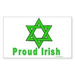 Proud Irish Jew Rectangle Sticker