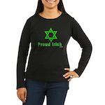 Proud Irish Jew Women's Long Sleeve Dark T-Shirt