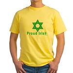 Proud Irish Jew Yellow T-Shirt
