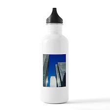 Skyscrapers in Canary  Water Bottle