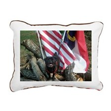 July 4th Rectangular Canvas Pillow