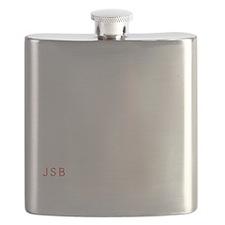 Big Bitch Wht Flask