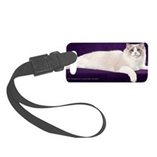 Ragdoll Wall Calendar Luggage Tag