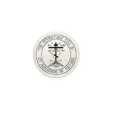 Hermitage logo Mini Button