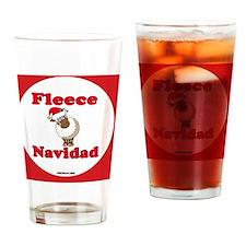 FleeceNewHex-a Drinking Glass
