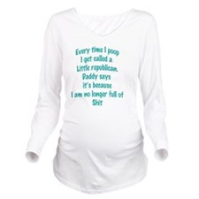 Full of it Long Sleeve Maternity T-Shirt