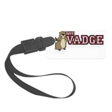 Vadge Logo Luggage Tag