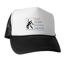 Eat Sleep Dance Repeat Trucker Hat