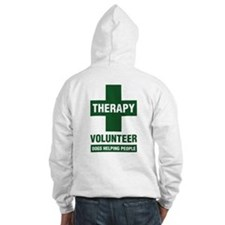 Professional Therapy Volunteer Hoodie