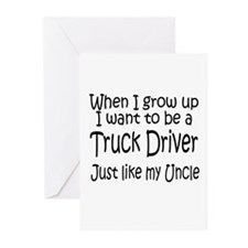 WIGU Trucker Uncle Greeting Cards (Pk of 10)