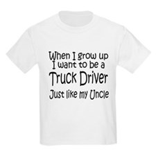 WIGU Trucker Uncle Kids T-Shirt