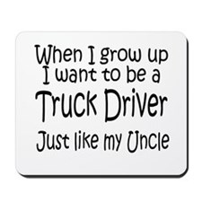 WIGU Trucker Uncle Mousepad
