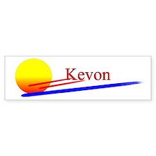 Kevon Bumper Car Sticker