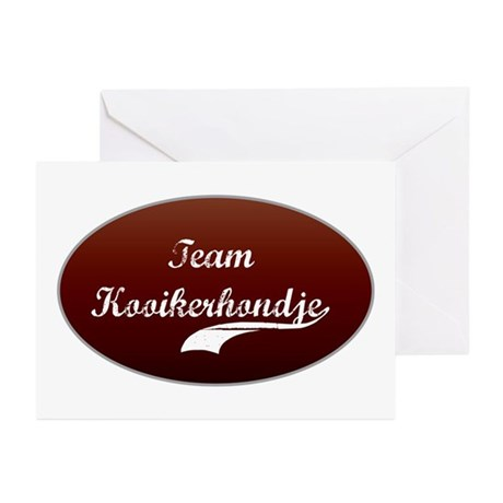 Team Kooikerhondje Greeting Cards (Pk of 10)