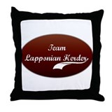 Team Lapponian Throw Pillow