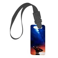Spacecraft tracking antenna Luggage Tag
