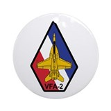 VFA-2 Bounty Hunters Ornament (Round)
