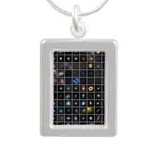 Messier objects, full se Silver Portrait Necklace