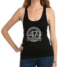 Member 47 Percent Racerback Tank Top