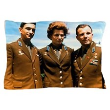 Soviet cosmonauts Pillow Case