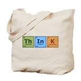 Think 2 Tote Bag