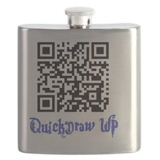 QuickDraw WP QR Logo Flask