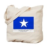 Texas Flag with Declaration Tote Bag