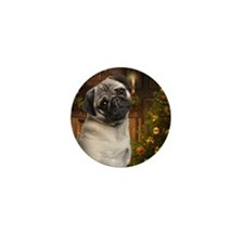 Pug Mini Button